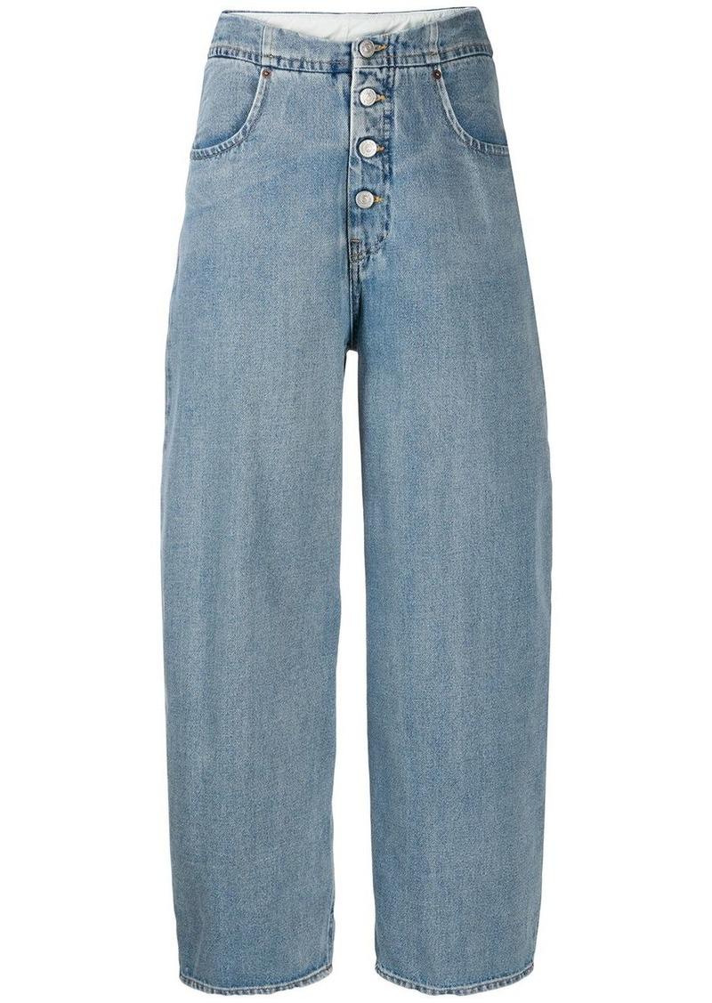 Maison Margiela cocoon shape jeans