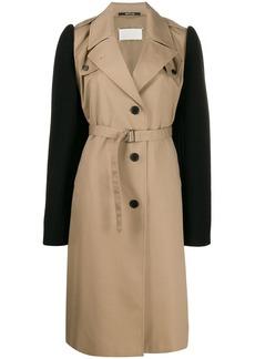 Maison Margiela colour block belted trench coat