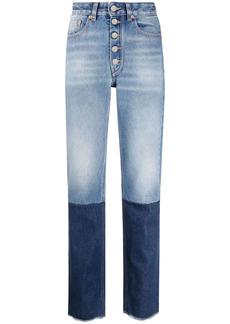 Maison Margiela contrast-panel skinny jeans