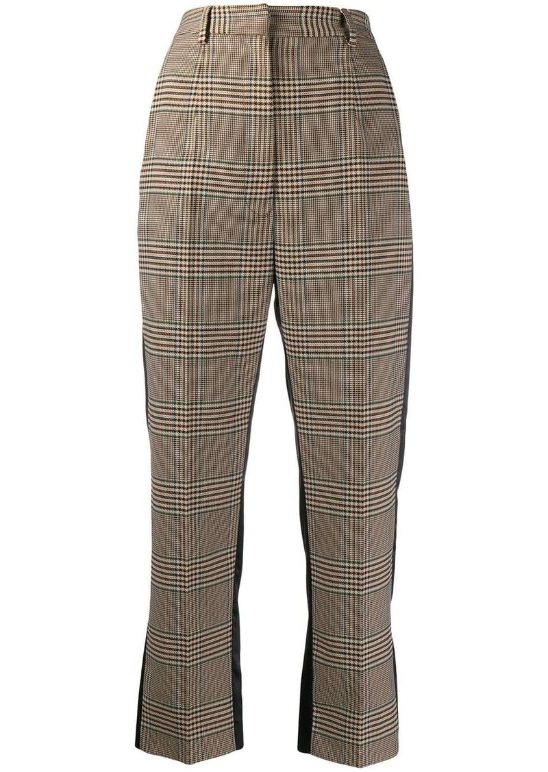 Maison Margiela contrast-panel tailored trousers