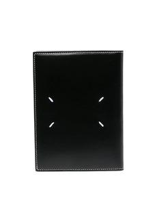 Maison Margiela contrast-stitch bi-fold passport holder