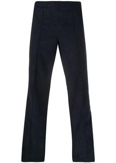 Maison Margiela cord side stripe trousers