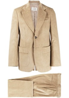Maison Margiela corduroy two-piece suit