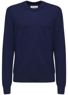 Maison Margiela Cotton & Wool Knit Sweater