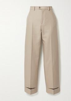 Maison Margiela Cotton-blend Twill Straight-leg Pants