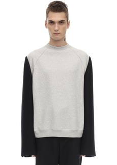 Maison Margiela Cotton Crewneck Sweater