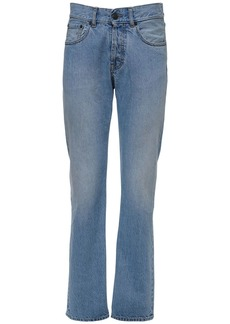 Maison Margiela Cotton Denim Skinny Leg Jeans