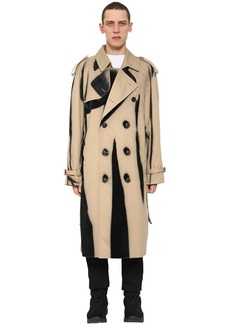 Maison Margiela Cotton Gabardine Trench Coat