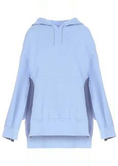Maison Margiela Cotton jersey hooded poncho