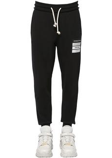 Maison Margiela Cotton Sweat Pants W/ Patch