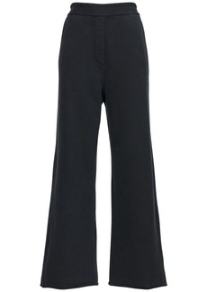 Maison Margiela Cotton Wide Leg Sweatpants