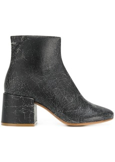 Maison Margiela cracked detail boots