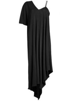 Maison Margiela Crepe Asymmetrical Dress
