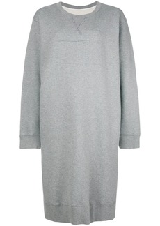 Maison Margiela crew neck jersey dress