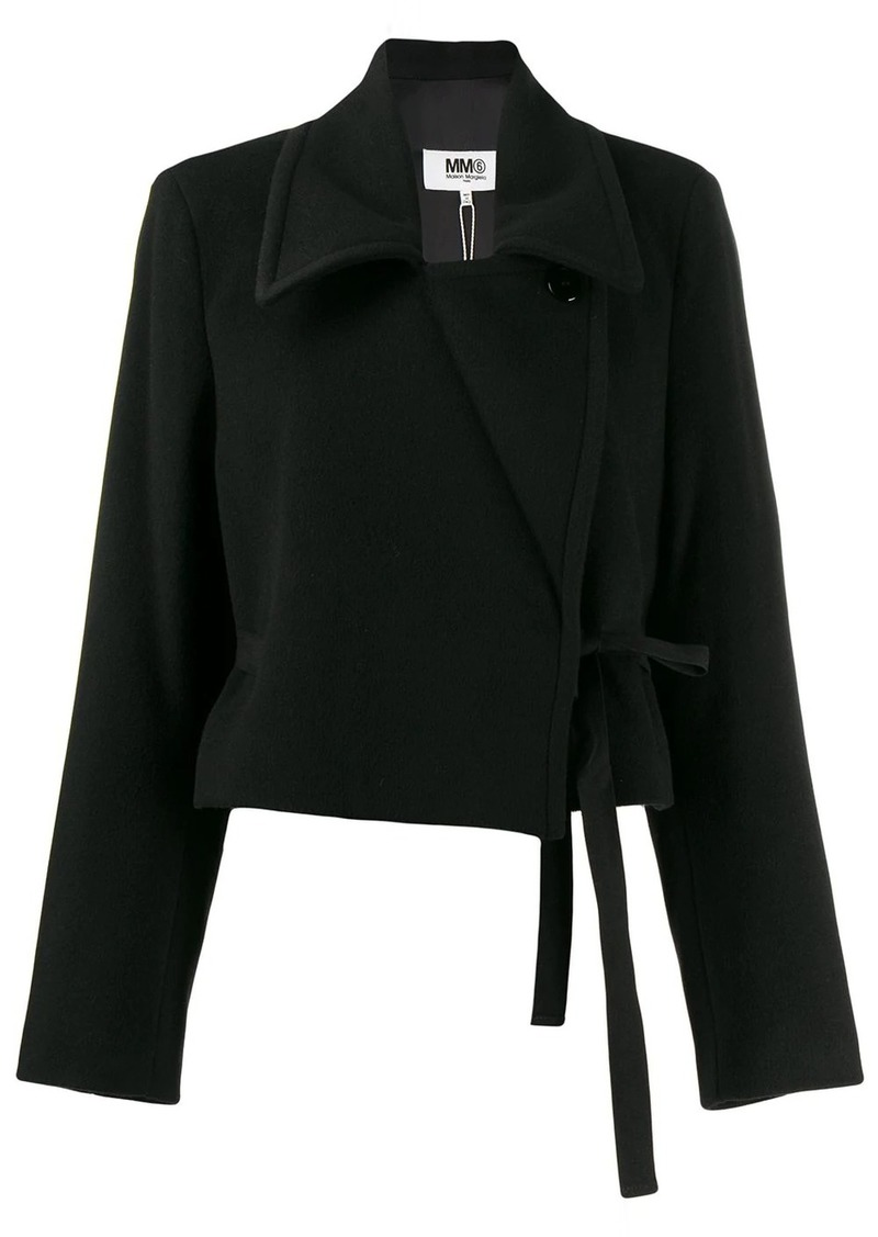 Maison Margiela cropped boxy jacket