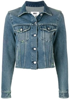 Maison Margiela cropped denim jacket