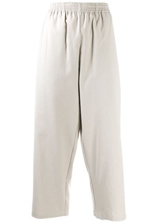 Maison Margiela cropped high-rise trousers