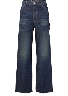 Maison Margiela Cropped High-rise Wide-leg Jeans