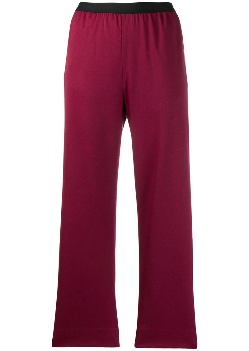 Maison Margiela cropped high waisted trousers