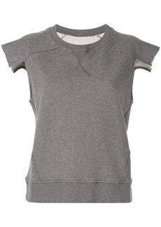 Maison Margiela cropped sleeves T-shirt