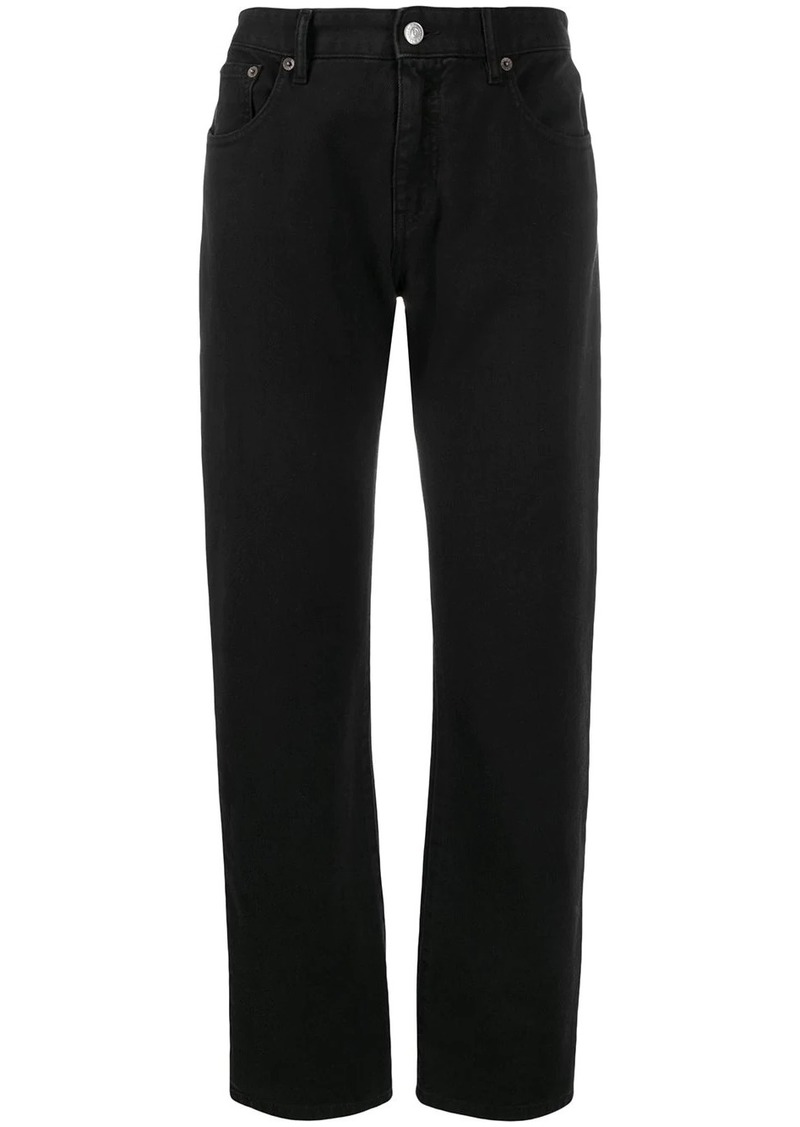 Maison Margiela cropped straight-leg jeans