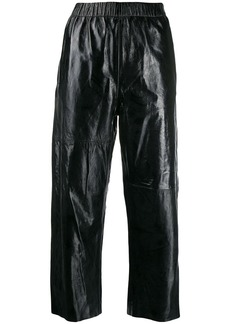 Maison Margiela cropped straight leg trousers