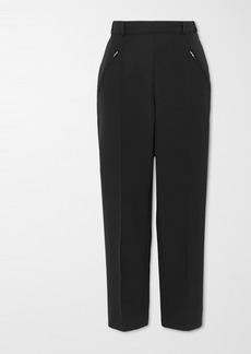 Maison Margiela Cropped Twill Straight-leg Pants