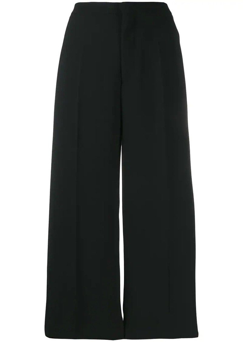 Maison Margiela cropped wide leg trousers