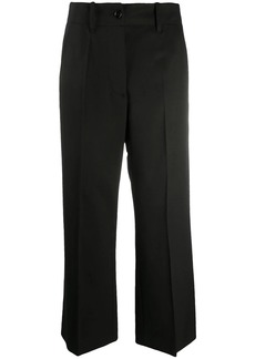 Maison Margiela cropped wide-leg trousers