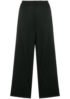 Maison Margiela cropped wide leg trousers