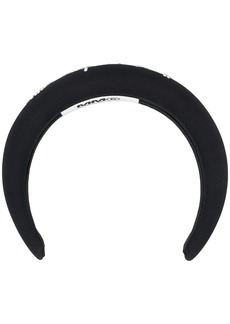 Maison Margiela crystal-embellished padded headband