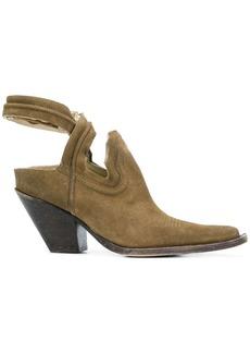 Maison Margiela cut-out cowboy boots