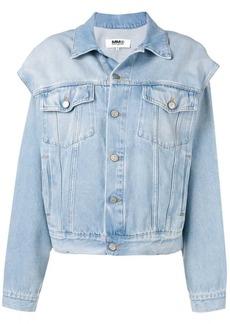 Maison Margiela cut-out denim jacket
