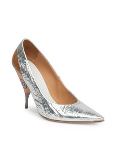 Maison Margiela Deconstructed Metallic Pumps