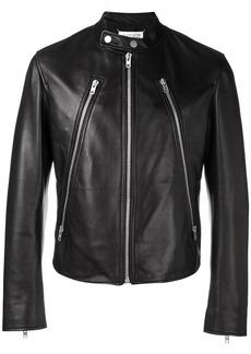Maison Margiela decorative zip biker jacket