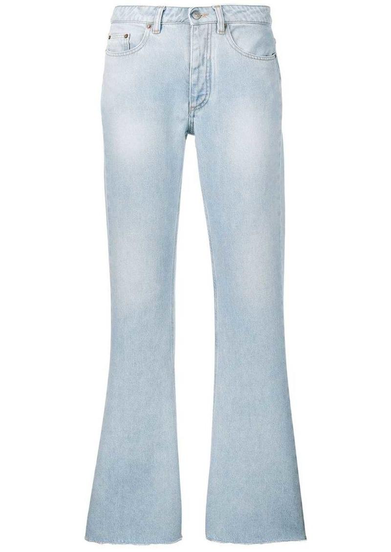 Maison Margiela denim bootcut jeans