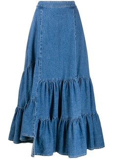 Maison Margiela denim maxi skirt