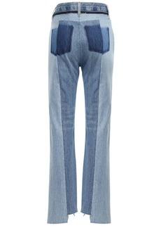 Maison Margiela Denim Straight Leg Jeans W/ Back Detail