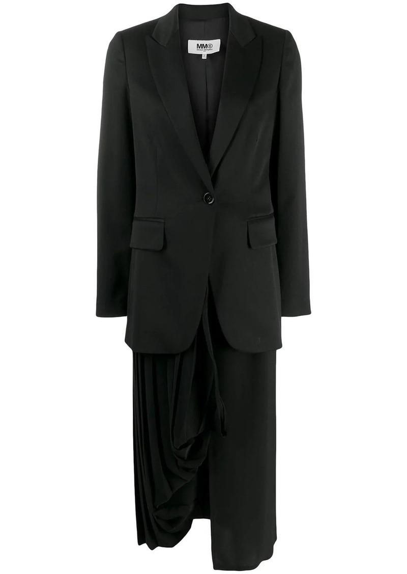 Maison Margiela detachable skirt blazer