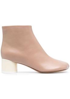 Maison Margiela diagonal-toe ankle boots