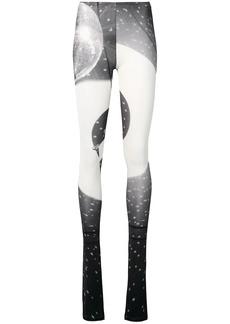 Maison Margiela disco ball print leggings