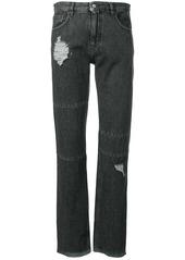 Maison Margiela distressed slim-fit jeans
