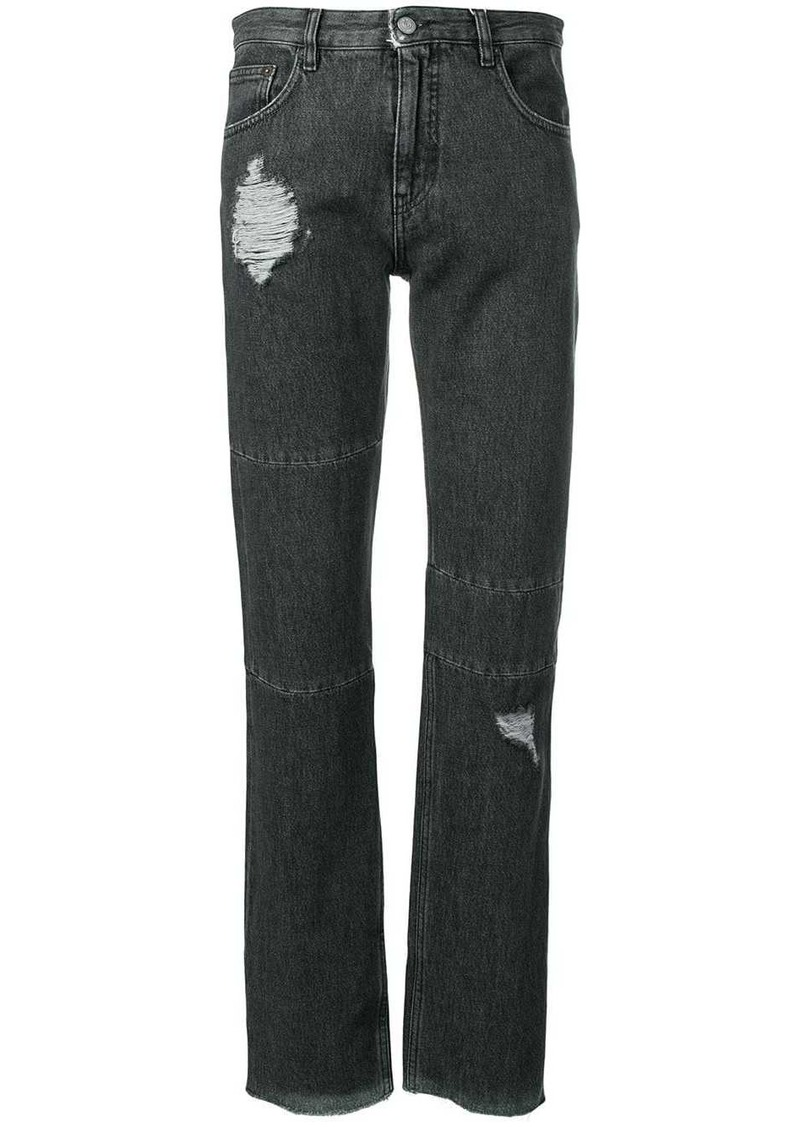 Maison Margiela distressed slim-fit jeans