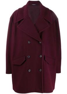 Maison Margiela double-breasted cape coat
