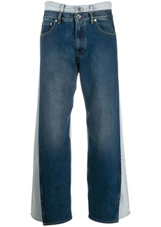 Maison Margiela double-denim jeans