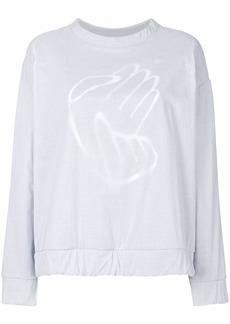 Maison Margiela double layer sweatshirt