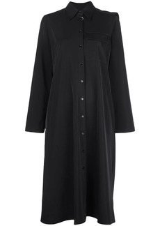 Maison Margiela draped back panel shirt dress