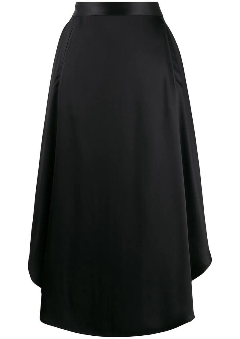 Maison Margiela draped midi skirt