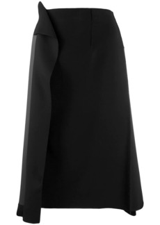 Maison Margiela draped skirt