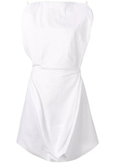 Maison Margiela draped sleeveless dress